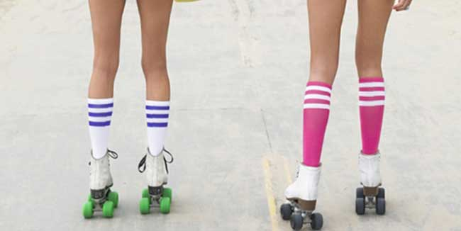 Fun-summer-activities-rollerskates